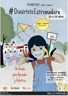 Inscripciones abiertas al programa Diviértete Extremadura en Higuera la Real