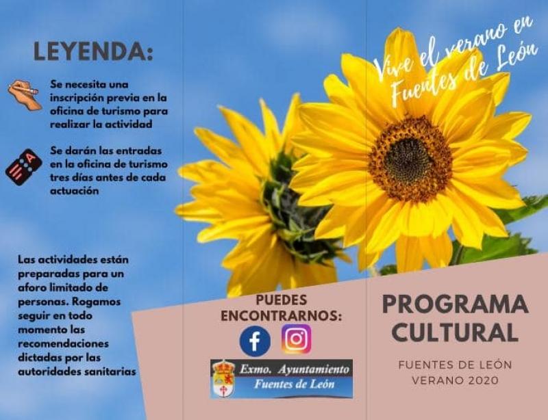 Fuentes de León presenta una extensa programación de verano cultural y agosto deportivo