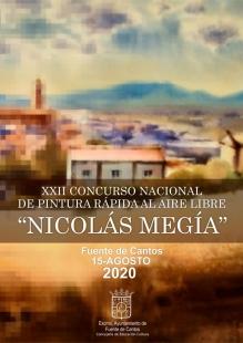 Fuente de Cantos celebra el XXII Concurso de Pintura rápida al aire libre `Nicolás Megías´