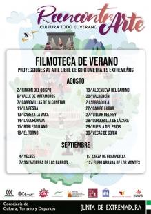 La Filmoteca de Extremadura pasará por Cabeza la Vaca el 13 de agosto