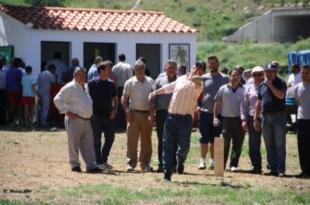 La asociación El Chorrito de Monesterio suspende su tradicional campeonato de mojón del emigrante