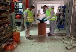 Unas setenta empresas de Monesterio cuentan con servicio gratuito de desinfección con ozono a cargo del Ayuntamiento