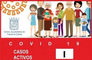 Nuevo positivo por COVID-19 en Fuente de Cantos