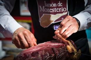 El Cuchillo Jamonero de Oro de Monesterio se queda sin dueño este año tras dos décadas de concurso