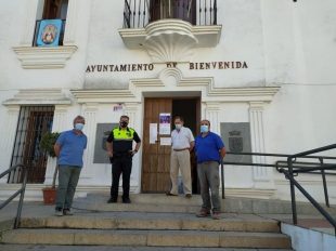 El Ayuntamiento de Bienvenida anuncia nuevas medidas de prevención ante la celebración del día de la Patrona