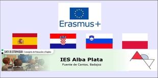 El I.E.S. `Alba Plata´ de Fuente de Cantos seleccionado entre uno de los centros europeos para realizar el proyecto ERASMUS+ KA-229