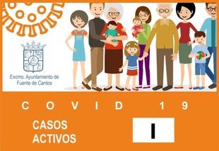 Se anuncia un nuevo positivo por covid-19 en Fuente de Cantos