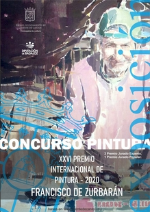 Publicadas las bases para el XXVI Premio Internacional de Pintura Francisco Zurbarán en Fuente de Cantos