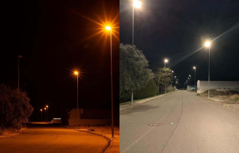 La Diputación de Badajoz ya ha sustituido más de 1800 luminarias a LED en la comarca de Tentudía