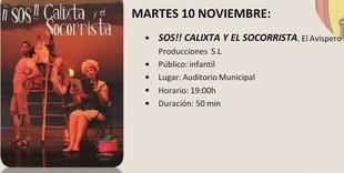 Hoy comienza en Monesterio el Festival de Teatro MonesteriArte que contará con 8 actuaciones durante el próximo mes