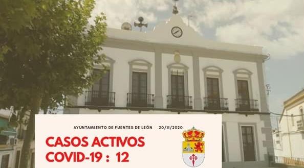 El viernes nos deja dos nuevos positivos en Fuentes de León