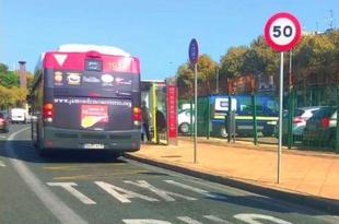 El Jamón de Monesterio viaja en los autobuses urbanos de Sevilla por segundo año consecutivo