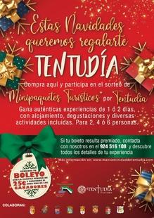 La Mancomunidad de Tentudía reparte estas Navidades experiencias turísticas por la comarca