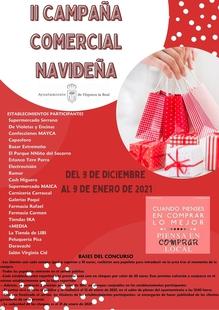 El Ayuntamiento de Higuera la Real realiza por segunda vez la Campaña Comercial Navideña para promover e incentivar el comercio local