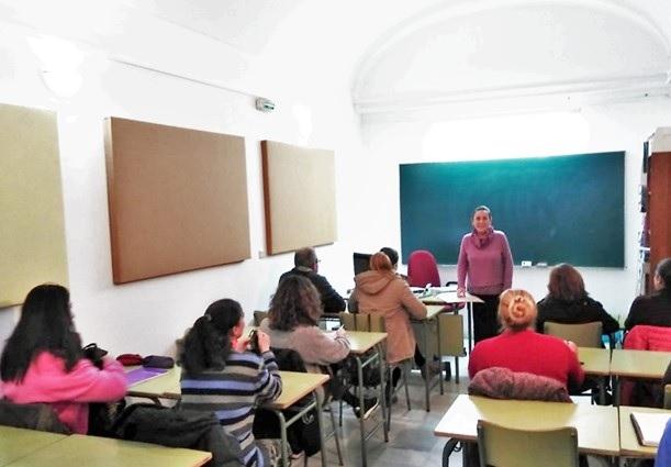 Comienza el curso en el Aula Municipal de Adultos de Monesterio