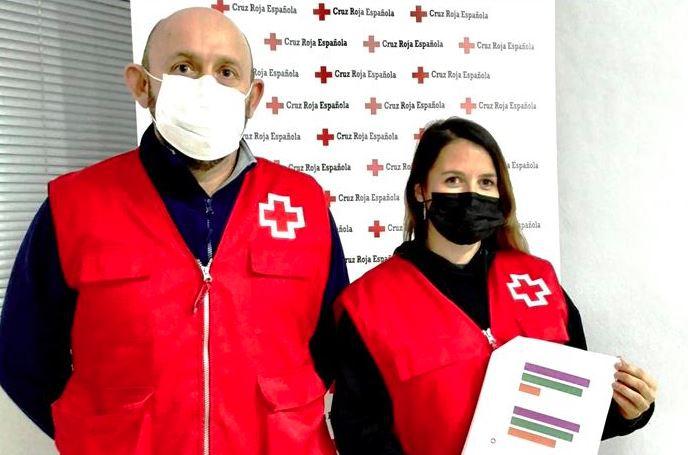Cruz Roja Monesterio ofrece 6.260 respuestas de ayuda frente al coronavirus durante 2020
