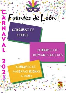 Fuentes de León presenta diferentes concursos para el Carnaval 2021