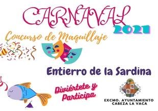 Cabeza la Vaca organiza dos concursos para disfrutar el Carnaval 2021 desde casa