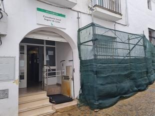 El Centro de Salud de Segura de León contará con una nueva sala de aislamiento y una entrada más accesible en las próximas semanas