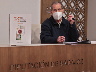La Diputación edita el trabajo de Pepe Carracedo sobre la barriada pacense de Suerte de Saavedra