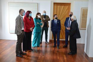 El presidente de la Diputación manifiesta la apuesta por la cultura y el patrimonio en la inauguración del Museo de Arte Contemporáneo de Fregenal