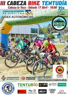 `Cabeza Bike Tentudía´, primera prueba de la Copa Tentudía Judex Bike el próximo 17 de abril