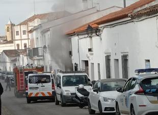 Fallece una persona en Fregenal de la Sierra a causa de un incendio en una vivienda
