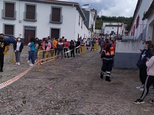Todas negativas las 295 pruebas realizadas hoy en el cribado poblacional de Fuentes de León