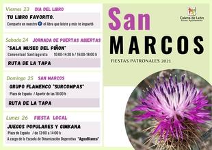 Calera de León celebra este próximo fin de semana sus Fiestas Patronales de San Marcos