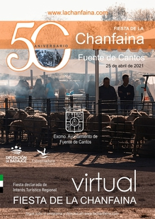 El 50 aniversario de la Chanfaina en Fuente de Cantos se celebrará de forma virtual