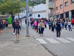 Todas negativas las 523 pruebas realizadas en Segura de León en el cribado poblacional para la detección del covid-19