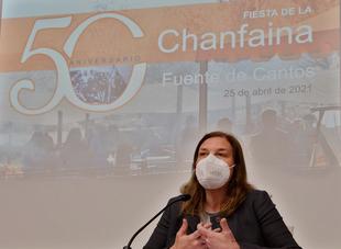 Presentada hoy en la Diputación la 50 edición de la Fiesta de la Chanfaina que se celebrará de forma virtual este domingo