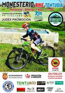 Monesterio acoge la segunda prueba de la Copa Tentudía de mountain bike el próximo 2 de mayo