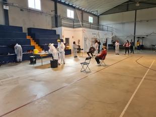 Mañana se decretará el cierre perimetral de Segura de León, pese a las 544 pruebas todas negativas del nuevo cribado de esta tarde