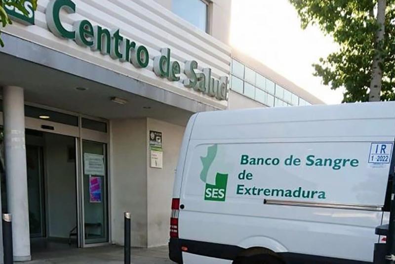 El Banco de Sangre viajará a Monesterio, Calera de León y Fregenal durante este mes de mayo