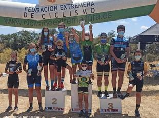 El circuito de Bodonal de la Sierra cierra la Copa Bike Tentudía, que ya tiene a sus ganadores