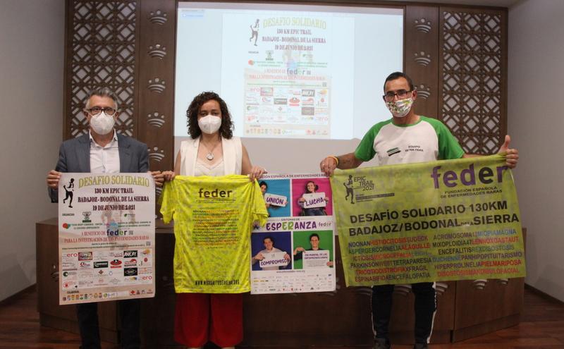 El desafío solidario Epic Trail Badajoz - Bodonal de la Sierra tendrá lugar este próximo sábado