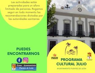 Presentada una completa programación cultural en Fuentes de León para el mes de julio