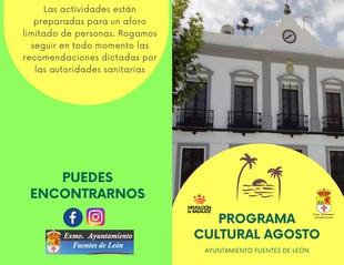 Presentada la programación cultural de Fuentes de León para el mes de agosto
