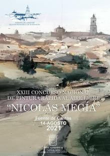 Este sábado se celebra en Fuente de Cantos el XXIII Concurso Nacional de Pintura Rápida al Aire Libre `Nicolás Megía´
