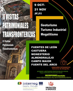 Fuentes de León y Monesterio acogen el II programa de Visitas Patrimoniales Transfronterizas