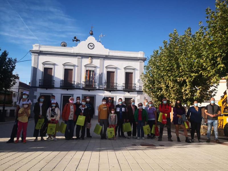 Fuentes de León acogía la primera visita del II programa de Visitas Patrimoniales Transfronterizas