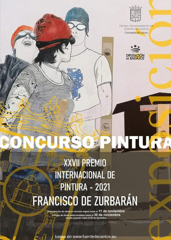 Publicadas las bases para el XXVII Premio Internacional de Pintura Francisco Zurbarán en Fuente de Cantos