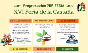 Presentada la programación de la Pre-Feria de la Castaña en Cabeza la Vaca