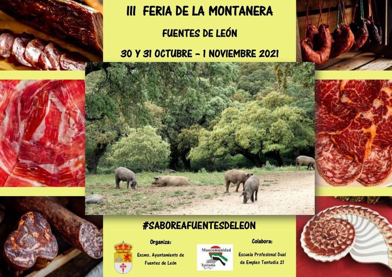 Presentada la completa programación de la III Feria de la Montanera en Fuentes de León