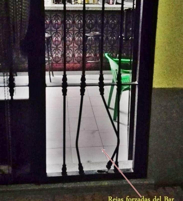 Detenido un vecino de Bienvenida por cinco robos en bares de esta localidad